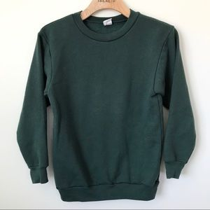 NWOT American Apparel F496 green pullover sweater
